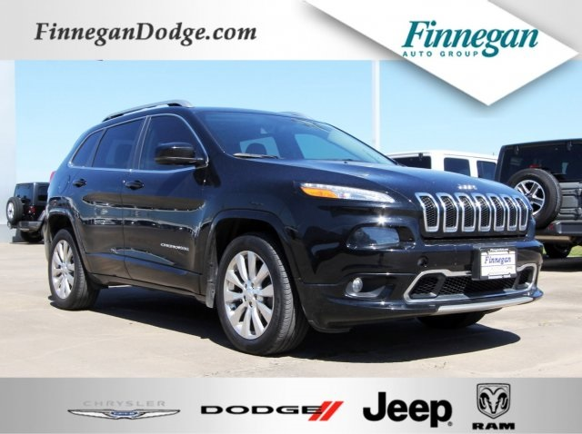 Jeep Cherokee Overland >> Pre Owned 2018 Jeep Cherokee Overland 4d Sport Utility In Rosenberg